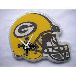 Shop Green Bay Packers Helmet Clock Overstock 4392516