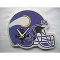 Minnesota Vikings Helmet Clock