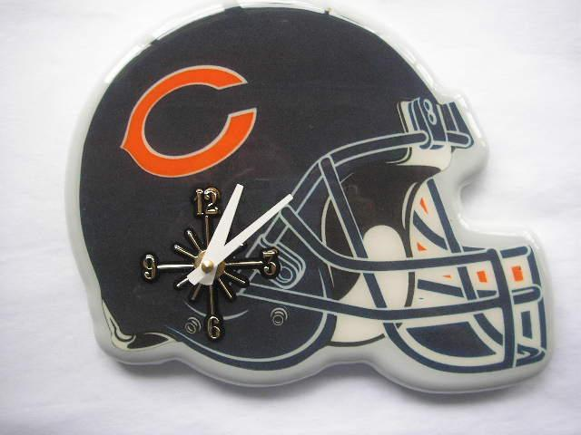Chicago Bears Helmet Clock
