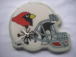 Arizona Cardinals Helmet Clock - Thumbnail 1