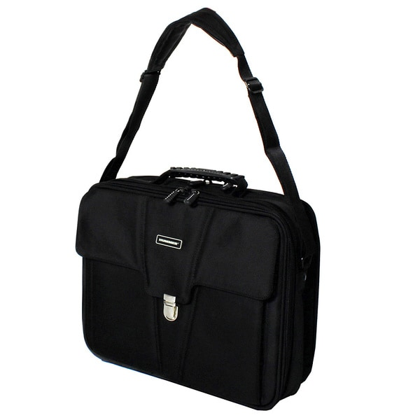 Hummer Ascent Black Business Portfolio Laptop Case