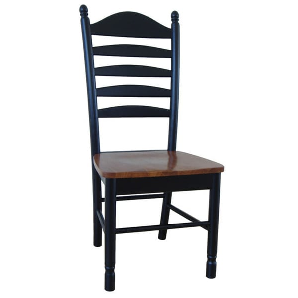 Superb Solid Wood Tall Ladderback Chairs (Set Of 2)   Free Shipping Today    Overstock.com   12356979