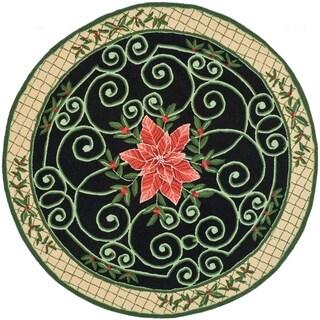 Safavieh Hand-hooked Chelsea Alysa Country Oriental Wool Rug