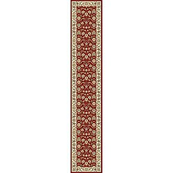Safavieh Lyndhurst Traditional Oriental Burgundy/ Ivory Runner (2'3 x 22')