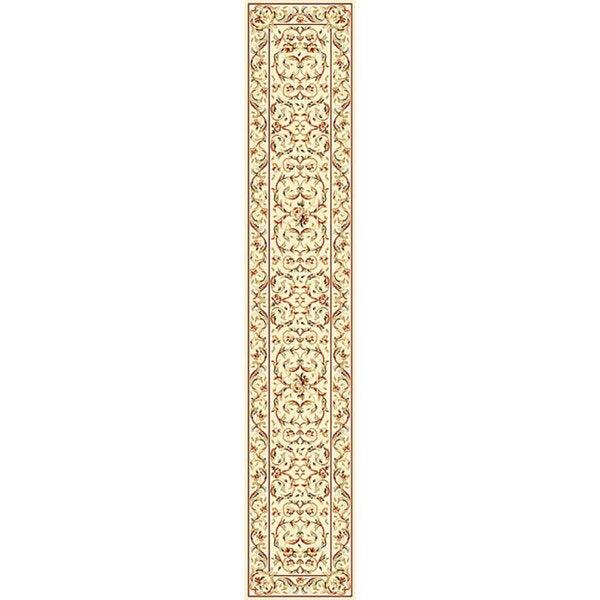 "Safavieh Lyndhurst Traditional Oriental Ivory/ Ivory Runner (2'3 x 16') - 2'3"" x 16'"