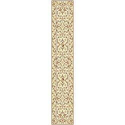 Safavieh Lyndhurst Traditional Oriental Ivory/ Ivory Runner (2'3 x 22')