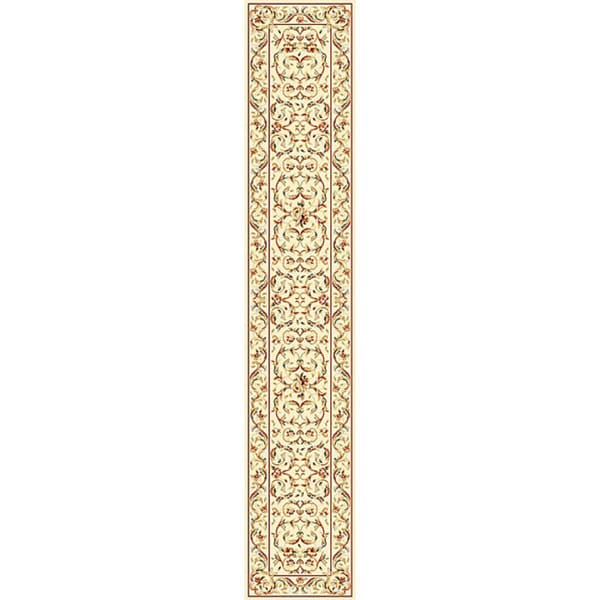 "Safavieh Lyndhurst Traditional Oriental Ivory/ Ivory Runner Rug - 2'3 x 22'/2'3"" x 22'"