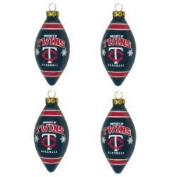 Minnesota Twins Teardrop Ornaments (Set of 4) - Thumbnail 1