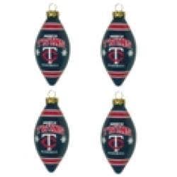 Minnesota Twins Teardrop Ornaments (Set of 4) - Thumbnail 2