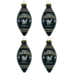 Milwaukee Brewers Teardrop Ornaments (Set of 4) - Thumbnail 2