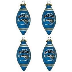 Orlando Magic Teardrop Ornaments (Set of 4)