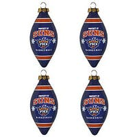 Phoenix Suns Teardrop Ornaments (Set of 4)