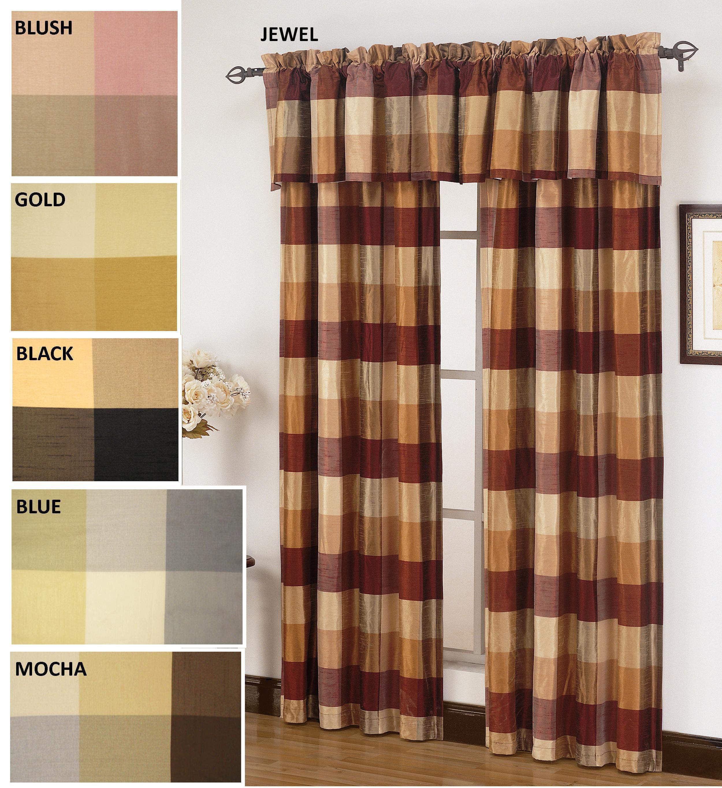 Lucan Plaid 18 Inch Valance Free Shipping On Orders Over