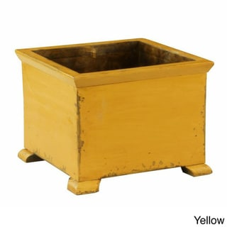 French Solid Wood Planter