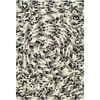 Safavieh Handmade Soho Mosaic Modern Abstract Black Wool Rug - 6' x 9'