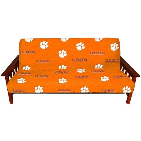 College Covers Clemson Tigers Full-size Futon Cover