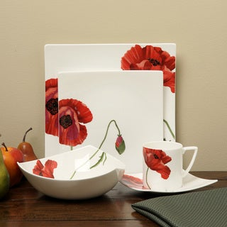 Red Vanilla Summer Sun 5 Piece Place Setting