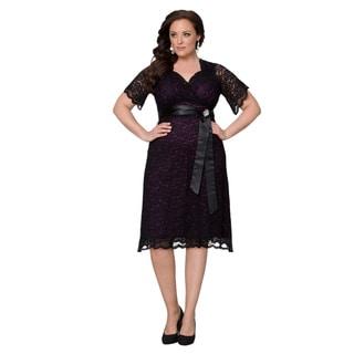 Kiyonna Clothing Women's Plus Size Retro Glam Dress