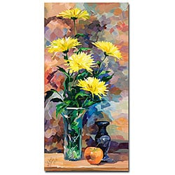 Yelena Lamm 'Still Life in Yellow' Gallery Wrapped Canvas Art