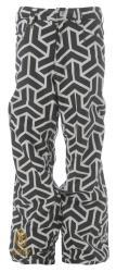 Sessions Neff Print Men's White and Black Snowboard Pants
