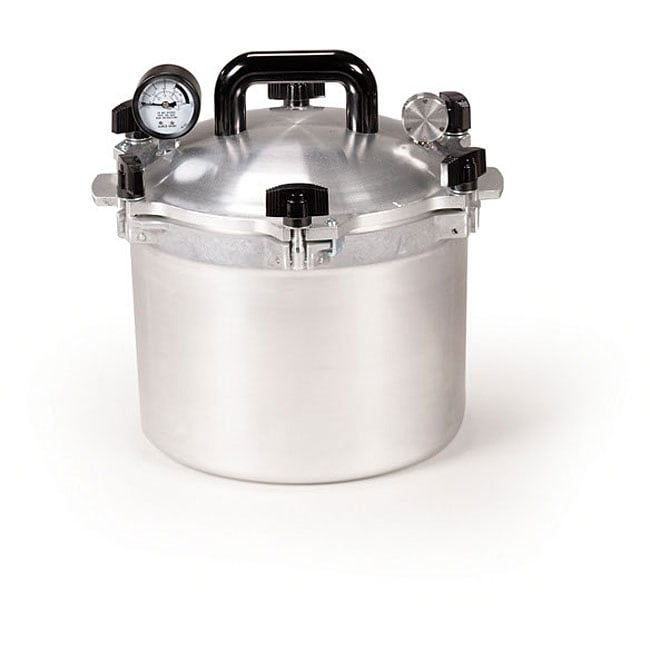 All American 910 10.5-quart Pressure Canner/ Cooker - Thumbnail 0