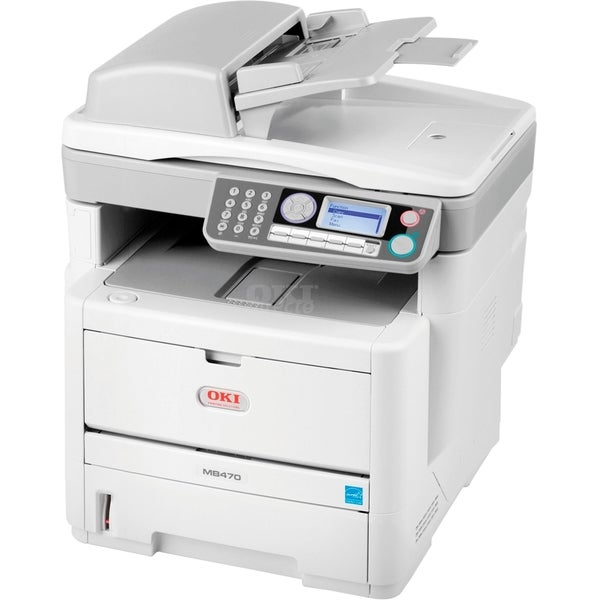Oki MB480 LED Multifunction Printer - Monochrome - Plain Paper Print