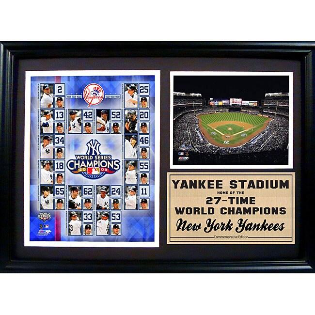 2009 New York Yankees World Champions 12x18 Photo