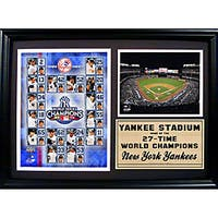 2009 New York Yankees World Champions 12x18 Photo