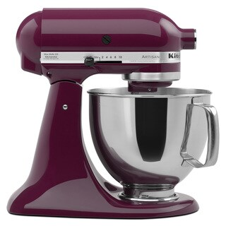 KitchenAid KSM150PSBY Boysenberry 5-quart Artisan Tilt-Head Stand Mixer