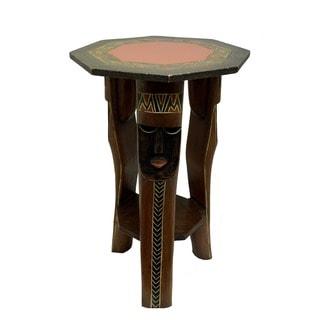 Handmade Large Fulani Side Table (Ghana)