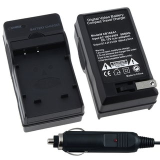 INSTEN Compact Battery Charger Set for Sony NP-BG1