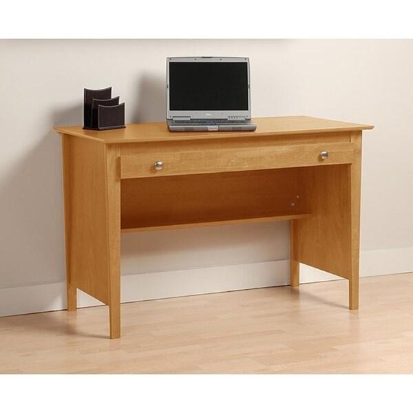 Montego Maple Contemporary Computer Desk
