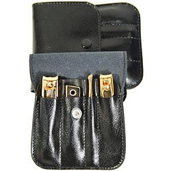 Royce Leather Deluxe Manicure Sets (Pack of 2)