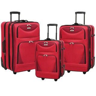 Travelers Club Skyview 3-piece Luggage Set