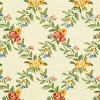 "Safavieh Hand-hooked Garden Trellis Ivory Wool Rug - 7'9"" x 9'9"""