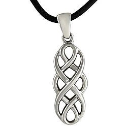 Stainless Steel Celtic Unity Knot Necklace
