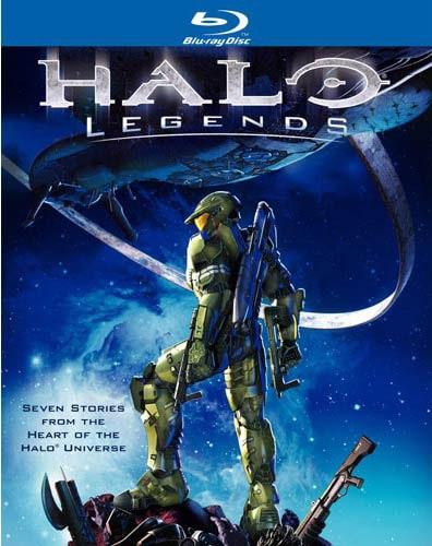Halo Legends (Blu-ray Disc)
