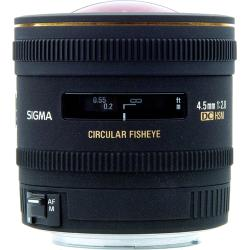 Sigma 4.5 mm F2.8 EX DC HSM Circular Fisheye Lens for Nikon