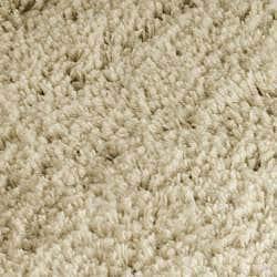 Safavieh Classic Ultra Handmade Taupe Shag Rug (6' Round) - Thumbnail 2