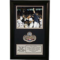 New York Yankees 2009 World Champions Framed Photo and Patch
