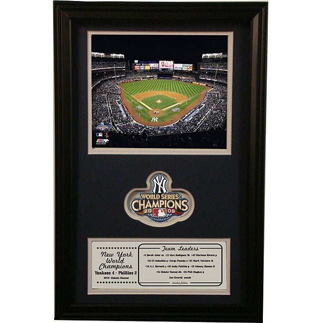 2009 New York Yankees World Series Champions Commemorative Photo