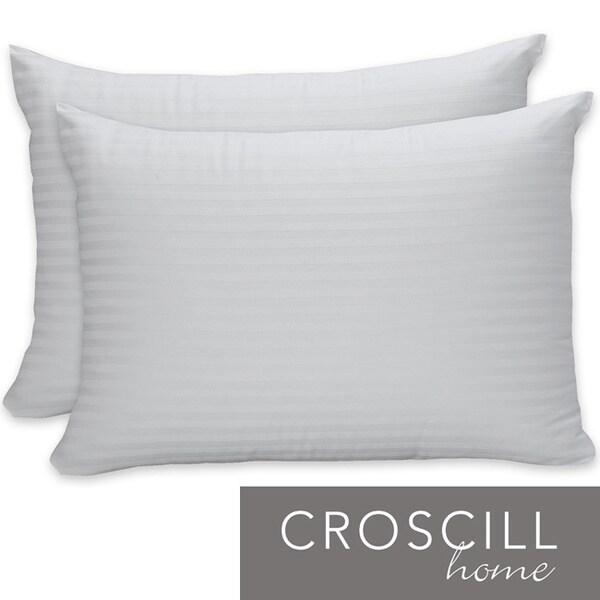 Croscill Cotton Sateen Bed Pillows (Set of 2)