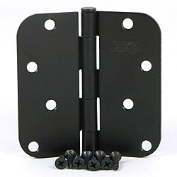 Stone Mill Hardware Oil-rubbed Bronze 4-inch Door Hinge Set of Two (2)