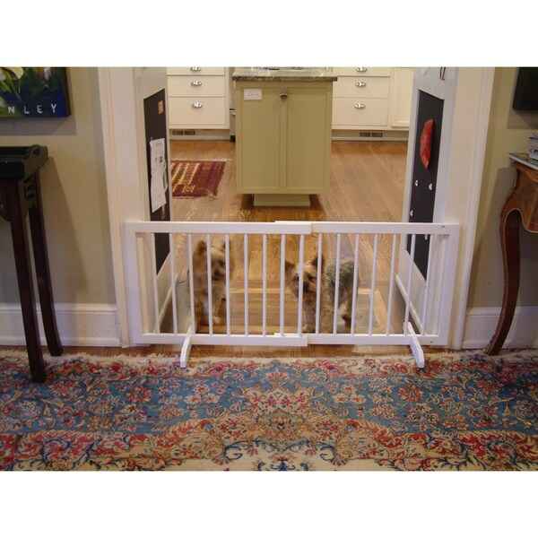 Cardinal Gates Step Over Pet Gate 12363568 Overstock Com Shopping The Best