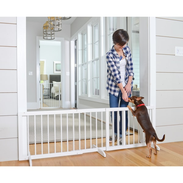 Shop Cardinal Gates Step Over Pet Gate Free Shipping Today