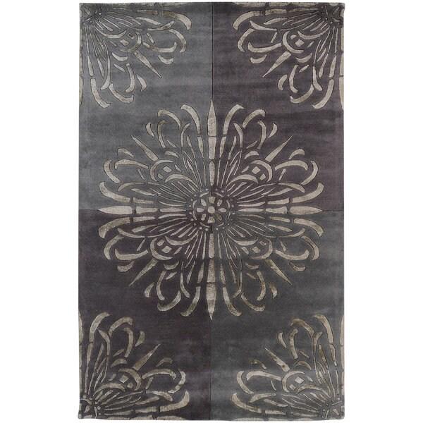 Hand-tufted Talara New Zealand Wool Area Rug (8' X 11