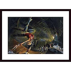 David Garibaldi 'B-Girl' Wood Framed Art Print