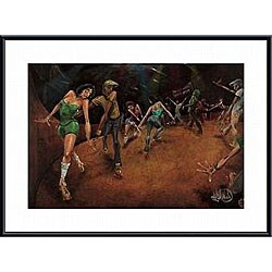 David Garibaldi 'Bounce, Rock, Skate!' Metal Framed Art