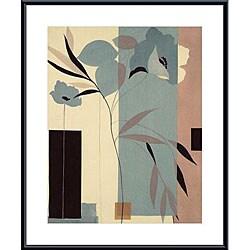 Robert Vernet 'Fleurs du Matin I' Framed Print