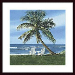 Linda Roberts 'Get Away' Wood Framed Art Print